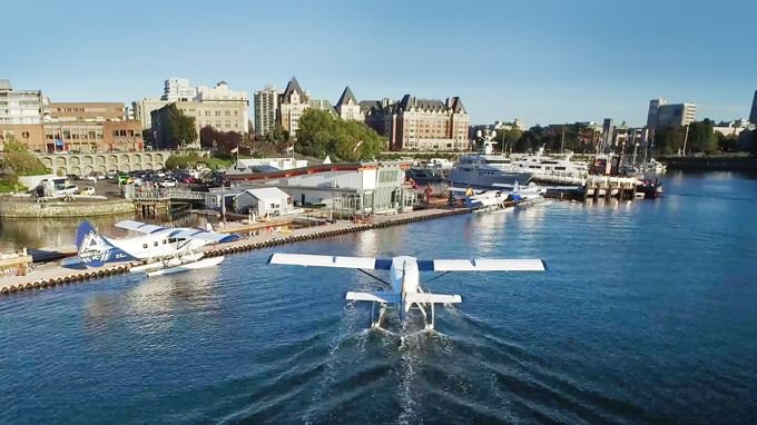 Get to Victoria by Plane
