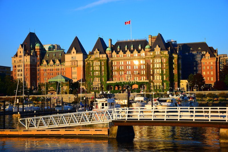 Stay at the Empress Hotel in Victoria