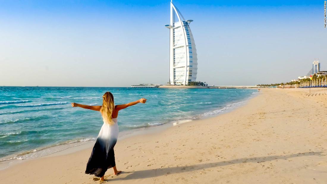 Beach at Madinat Jumeirah Resort in Dubai
