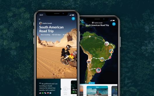 Polarsteps iOS app