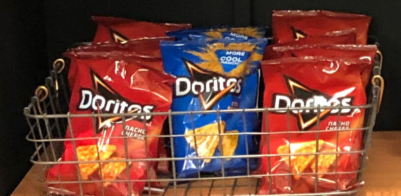 A selection of chips.