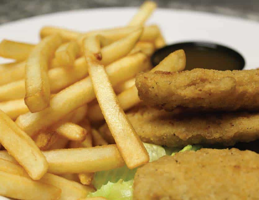 FRIES AND CHICKEN FINGERS