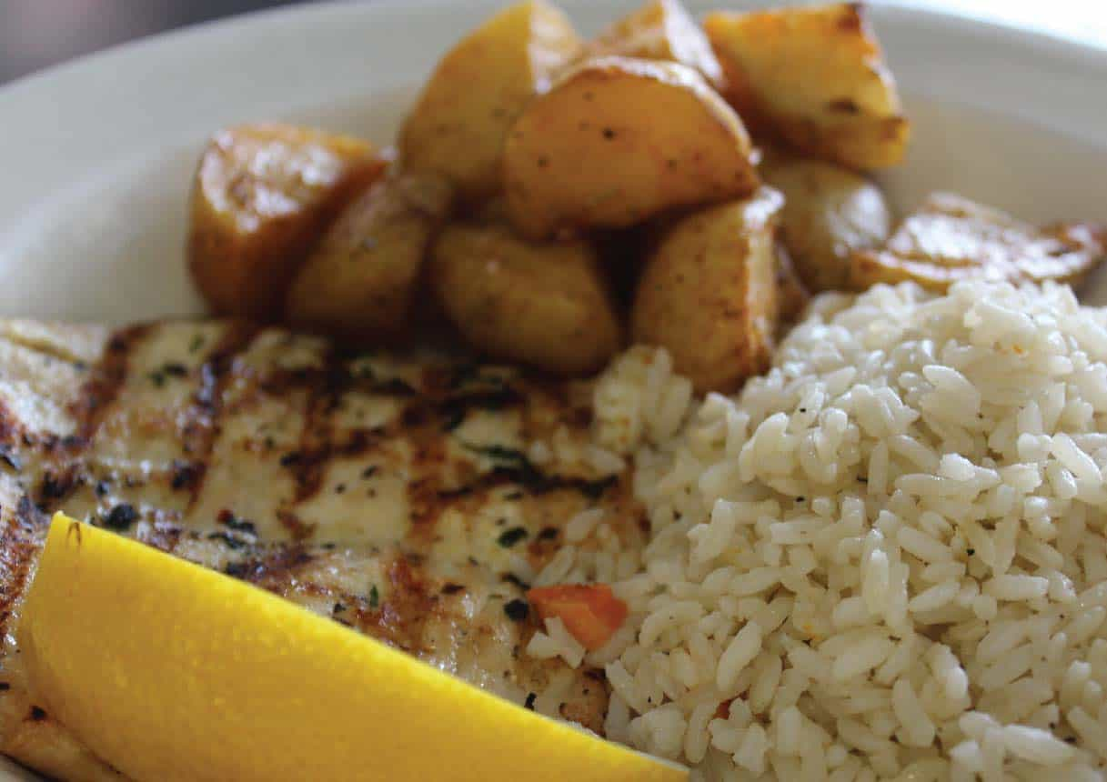 CHICKEN AND RICE ENTREE