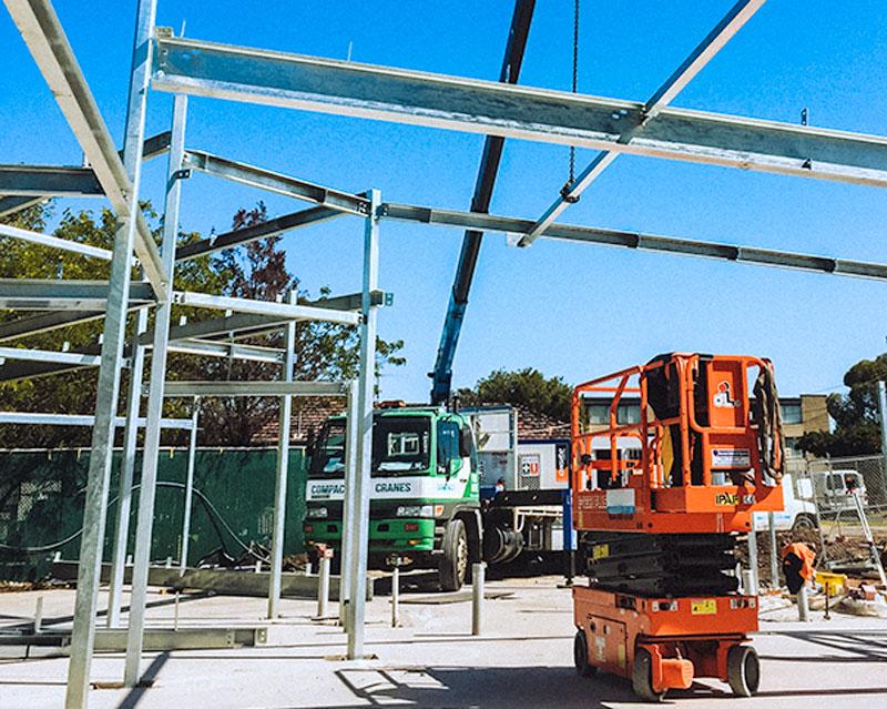 steel installation / erection geelong & melbourne
