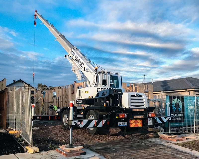 Bubble / City Crane Hire in Geelong & Melbourne