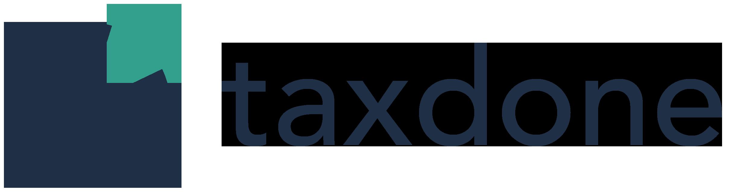Logo taxdone