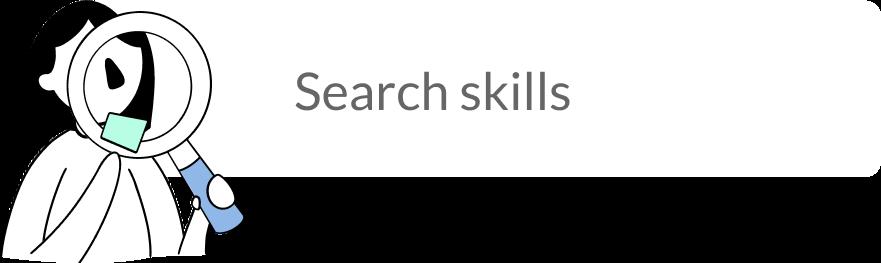 Specific skill search