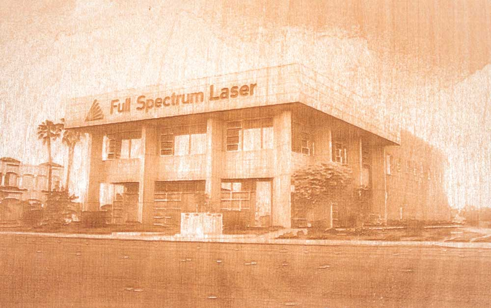 Laser Engraved Design