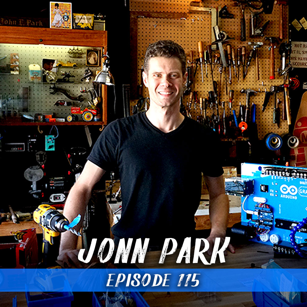 This week we chat with John Edgar Park. John has worked as an animator and Imagineer for Disney and currently produces amazing electronic tutorials at Adafruit. We get into his background and some easy ways on how you can incorporate electronics in your projects.