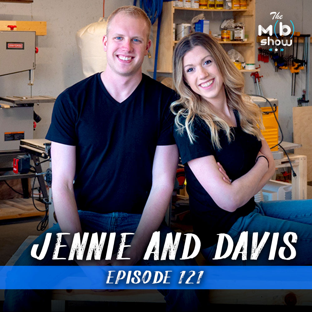 This week we chat with husband and wife team Jennie and Davis all about what it takes to find clients and set up a custom furniture business.