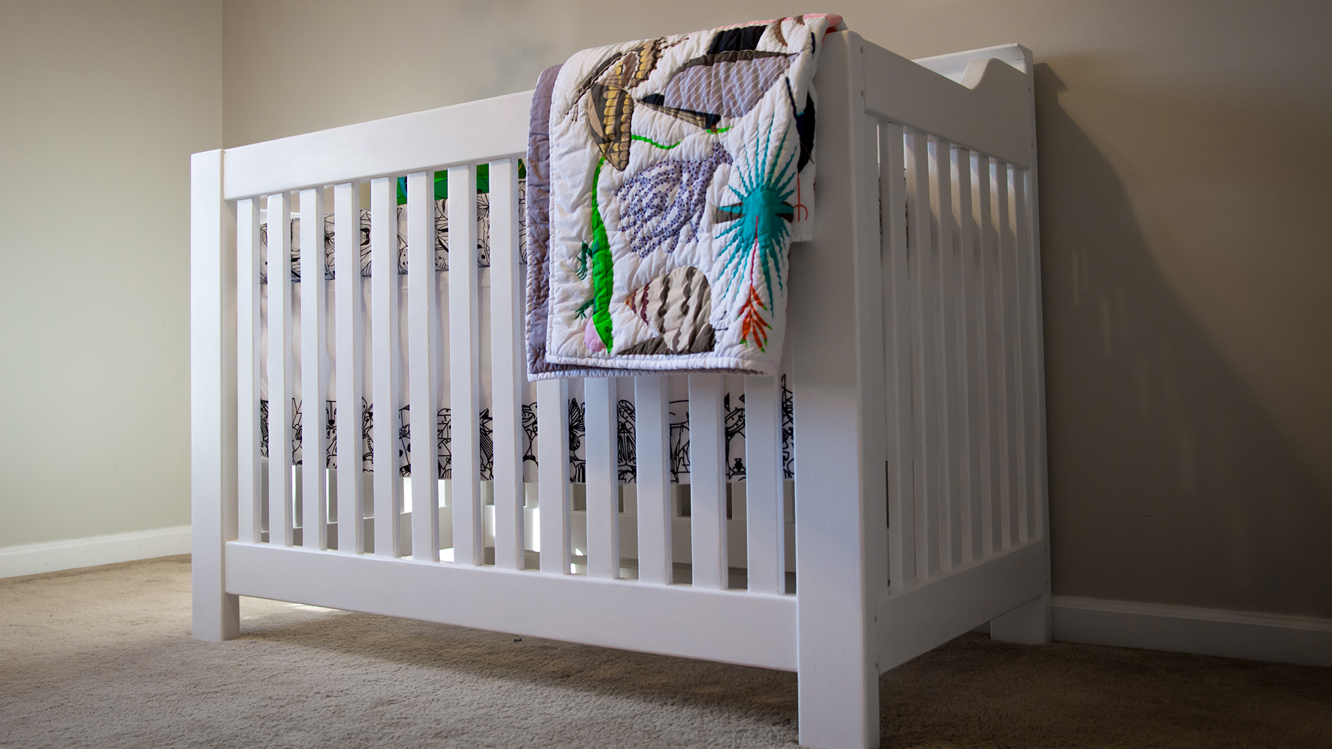 How to Build a Crib for the Nursery