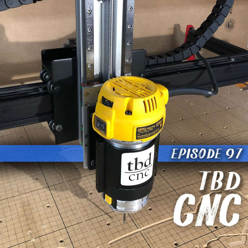 This week we chat with Luke Wilson the owner of TBD CNC. We get into what it takes to custom your CNC and how Luke how built a business around it.