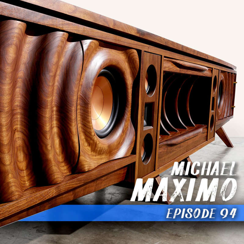 This week we chat with Michael Maximo a pro furniture designer about the intersection of old school tools and new school technology.