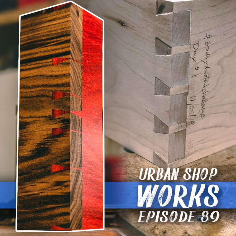 This week we find out how much improvement you can make in 30 days with Preston at Urban Shop Works.