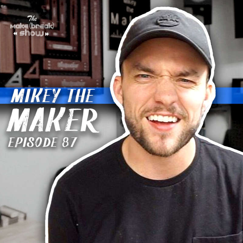 This week we chat with Mikey the Maker a part-time woodworker who is getting full-time results. We get into how he has built his Instagram presence to nearly 80,000 in just 2 years and worked with companies like Woodpeckers and Workbench Con.