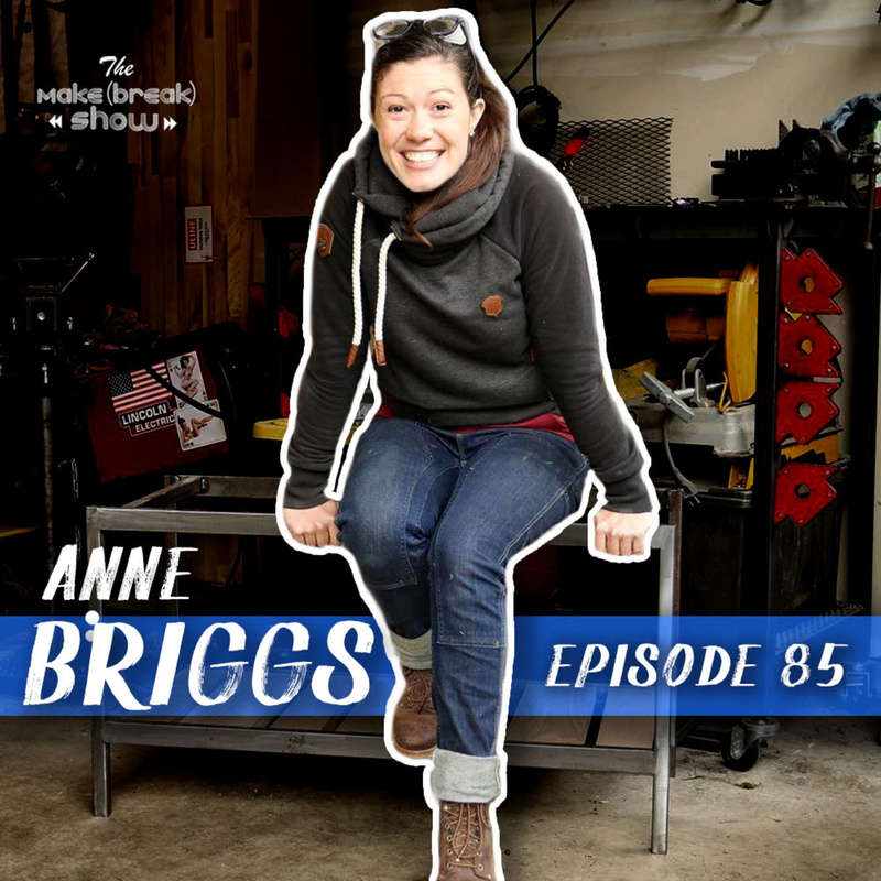 This week we chat with Anne Briggs whose range of skills and talents really do earn her the name Anne of All Trades.