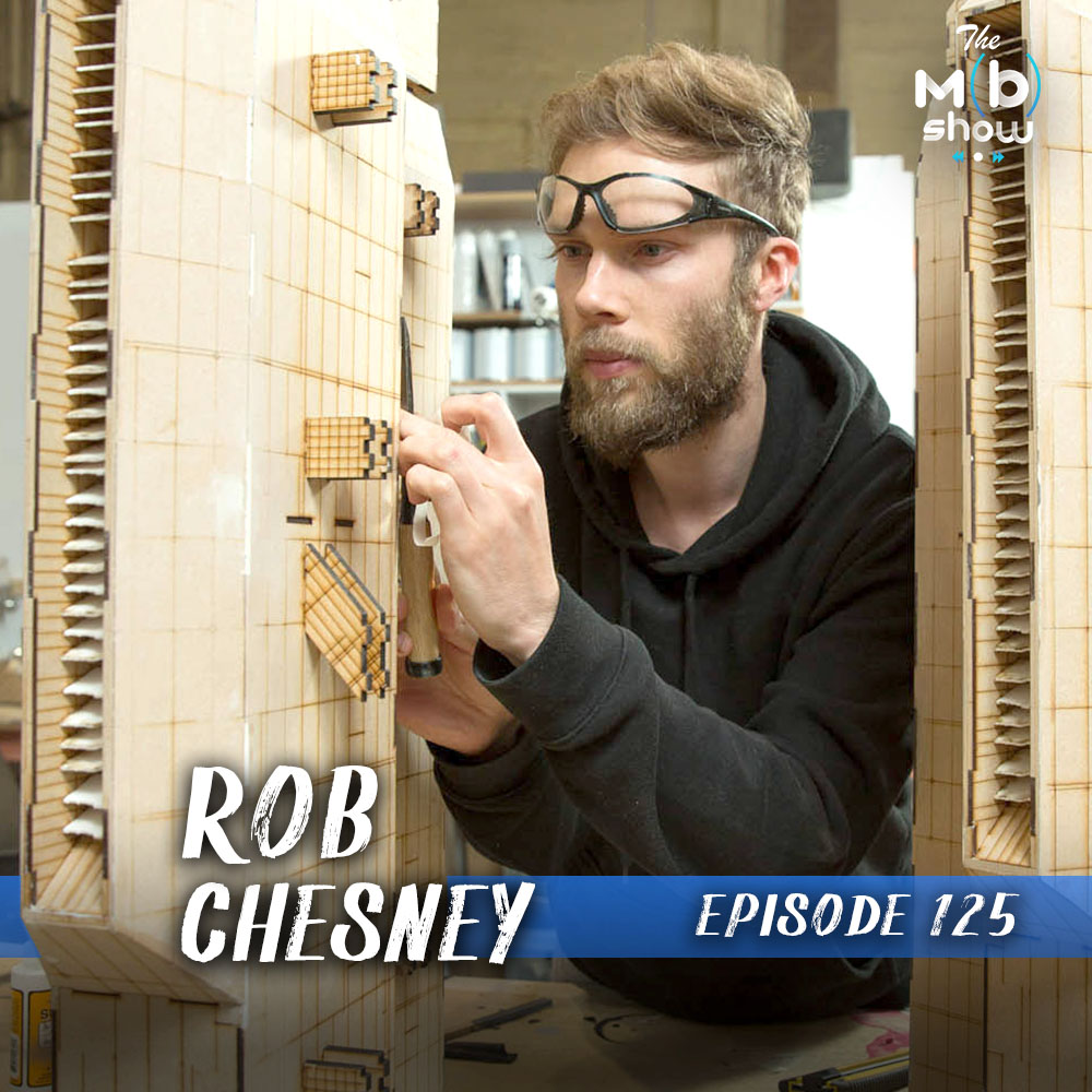 This week we chat with Rob Chesney from Further Fabrication. We get into Rob's work as a model maker at Weta Workshop working on films like Blade Runner 2049. Plus how he built a large laser cutter in his garage from scratch.