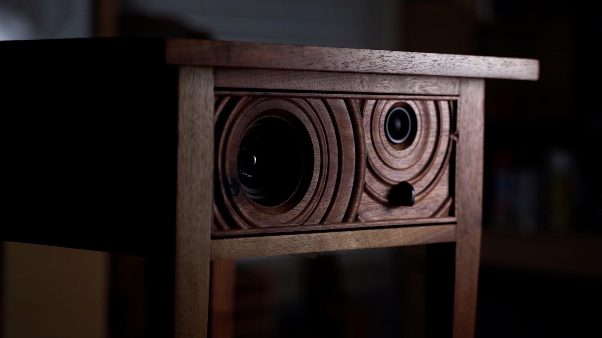 Finished shots of DIY Bluetooth Speaker