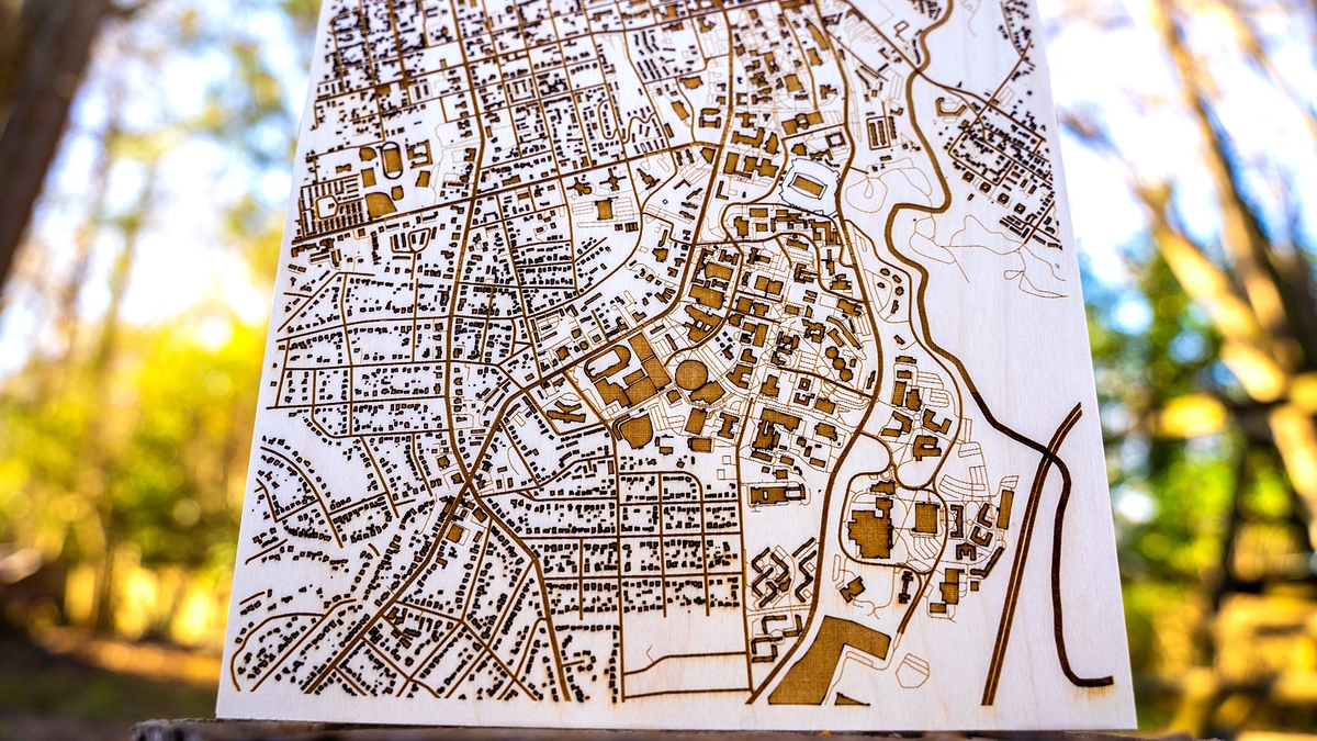 Why are custom laser cut maps so hard to make?