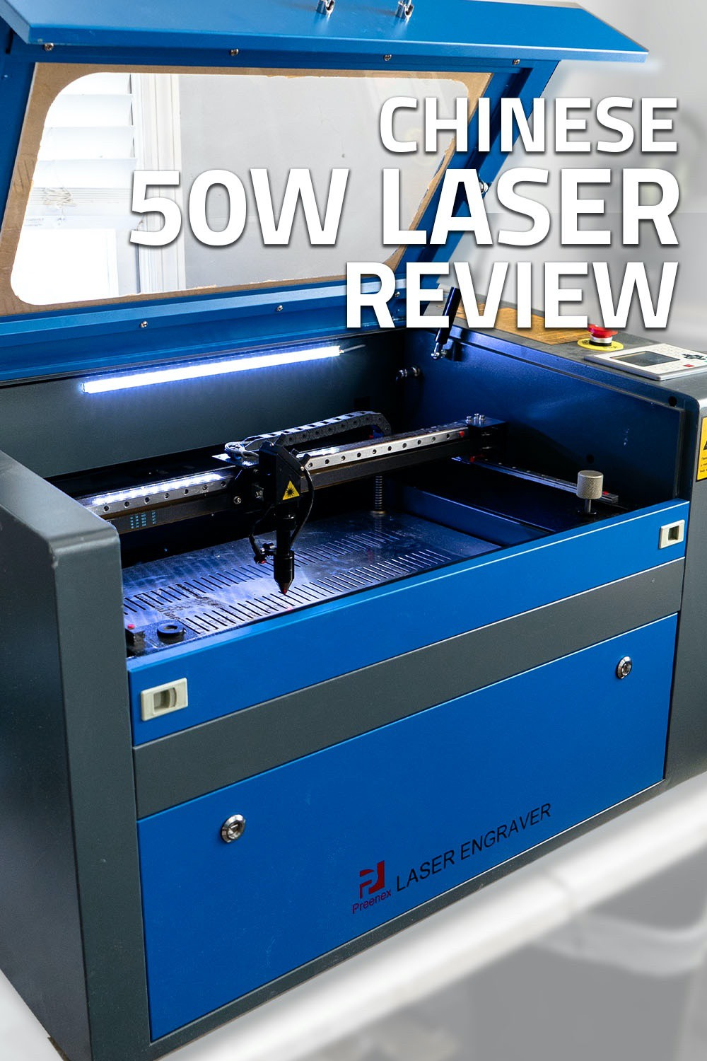 From unboxing to saftey to cutting/engraving we get into all the things this 50W C02 Laser from China can do #laserengraving #lasercutting