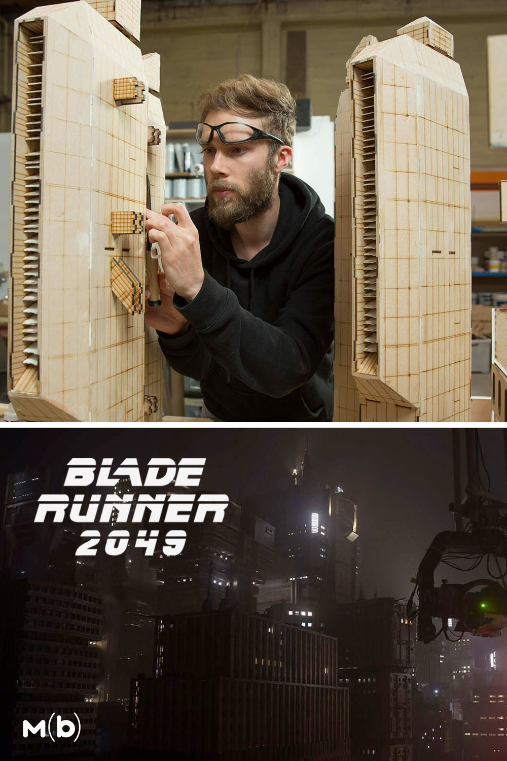 How the sets for Blade Runner 2049 were built with Rob Chesney #wetaworkshop #setdesign