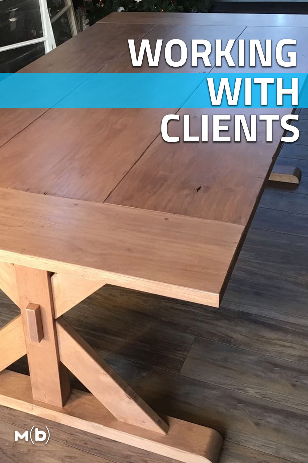 What does it take to build furniture for clients? We chat with part-time woodworker Justin Cunanan to find out!
