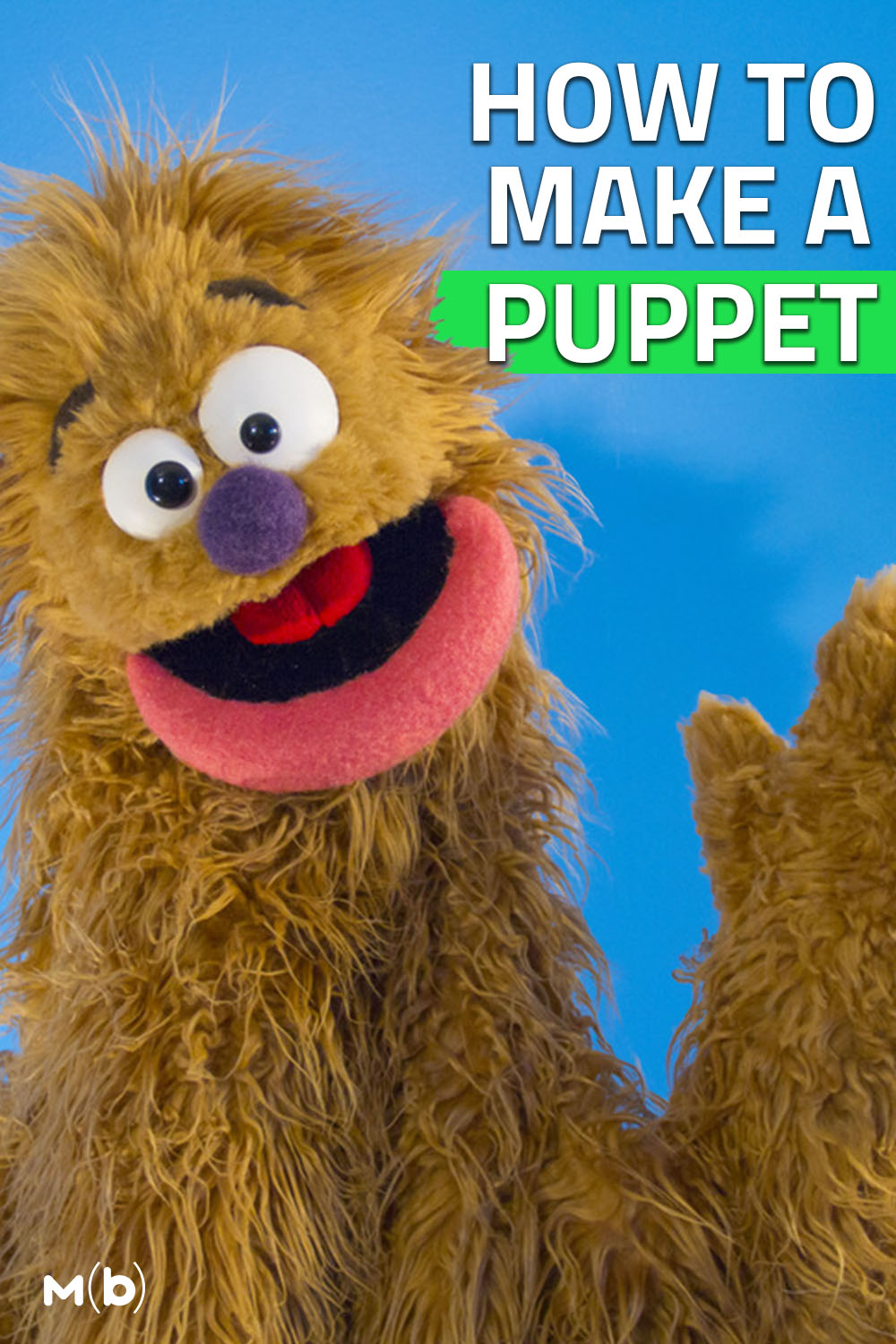 Learn how to Build a Puppet with Adam Kreutinger #puppet #diy