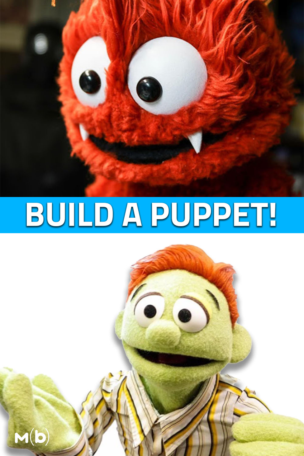 Build a Puppet from Scratch with Custom Patterns from Adam Kreutinger #puppet #diy