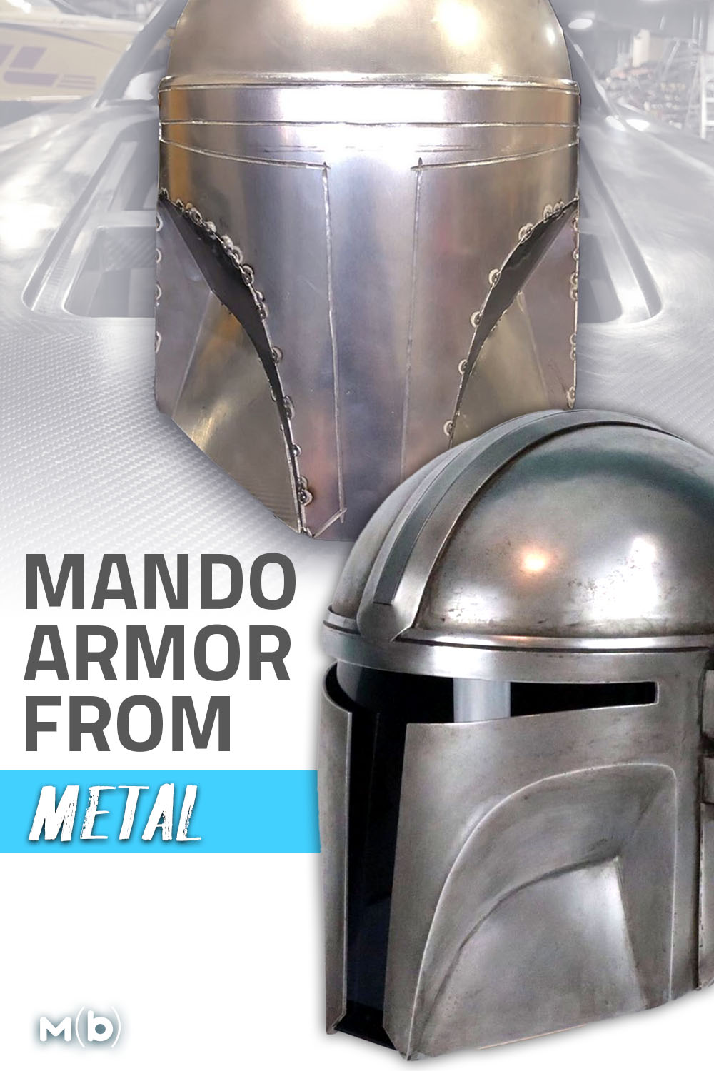 Sure you can make some Mandalorian Armor out of foam, but what about metal? Matt Schwartz shows us how! #diy #mandalorian #babyyoda
