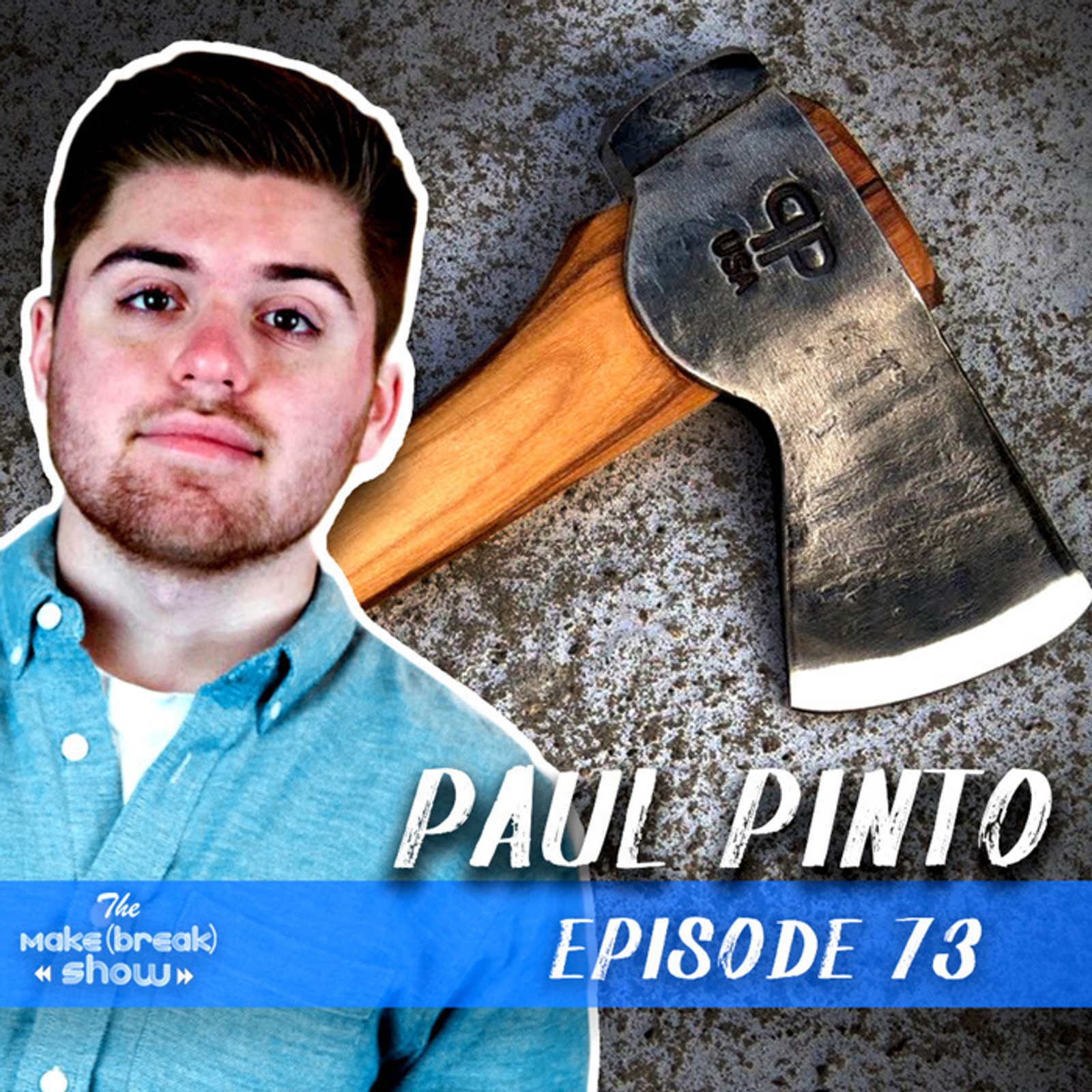 This week we chat with up and coming blacksmith Paul Pinto. Find out how Paul got started and what it's like to build your own hydraulic press!