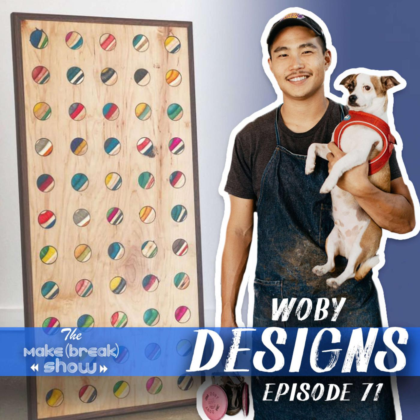I'm your host Brandon Cullum and this week we chat with Ben Paik from Woby Designs. Learn how Ben is making furniture and more out of recycled skateboards.