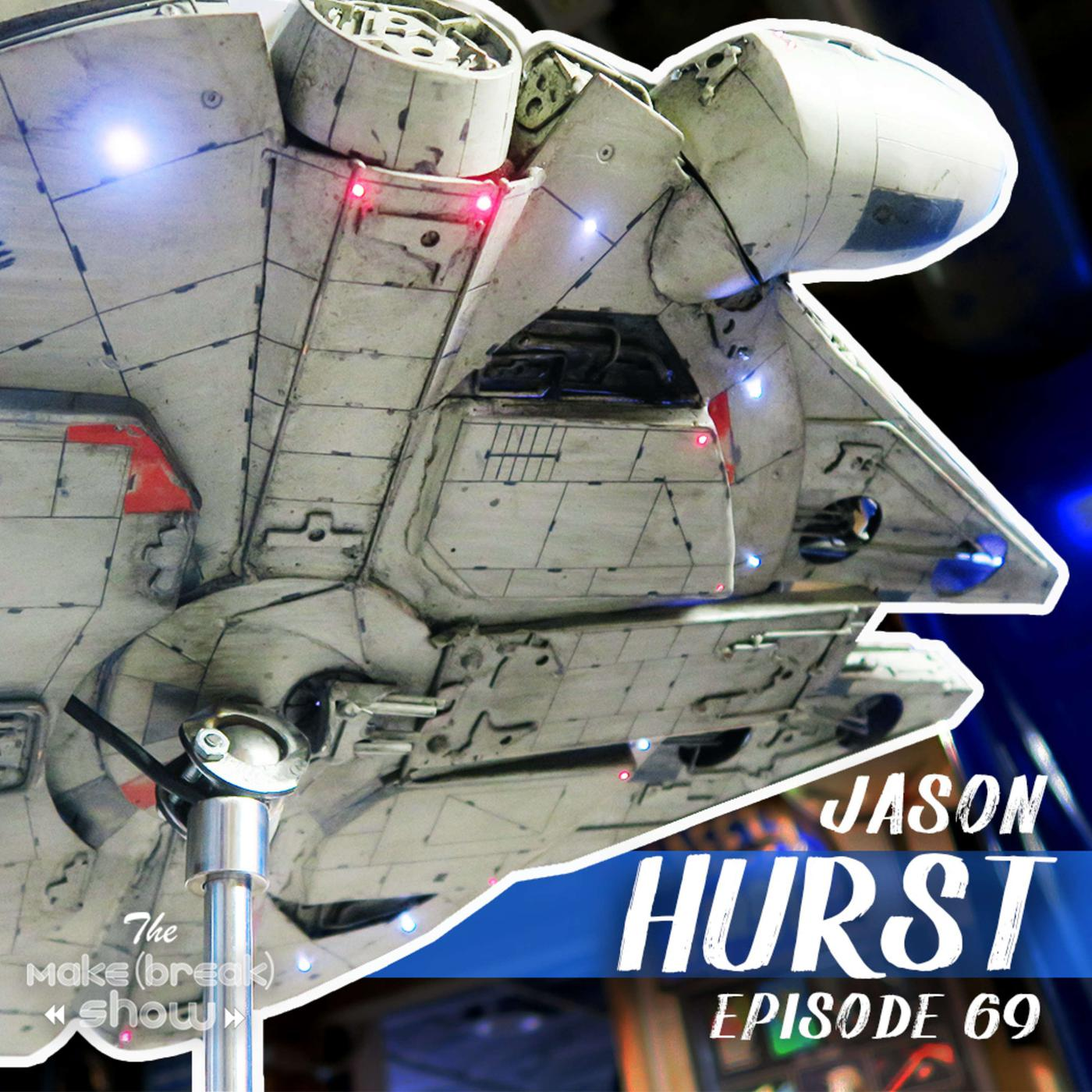 This week we chat with Jason Hurst from Works By a Hurst. We dive into his Star Wars-inspired metal sculptures and what it takes to fabricate in a 1 car garage.