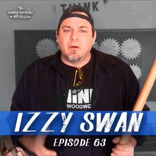 This week we chat with the mad scientist himself Izzy Swan. We get into all the crazy things you can make on a table saw, drill powered dinosaurs and Izzy's huge career making things for a living.