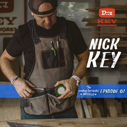 This week we chat with Nick Key from Key Woodworks. Find out how Nick is growing his side business through Instagram and how he balances it all with a full-time job.