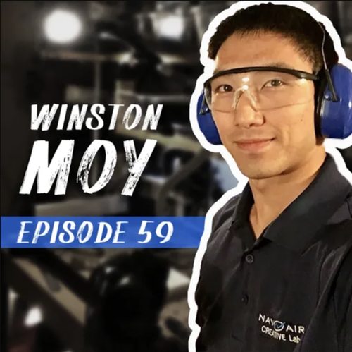 This week we chat with Winston Moy. We dive deep into the world of CNC and how he has progressed from 2D carving to full 5-Axis work machining!