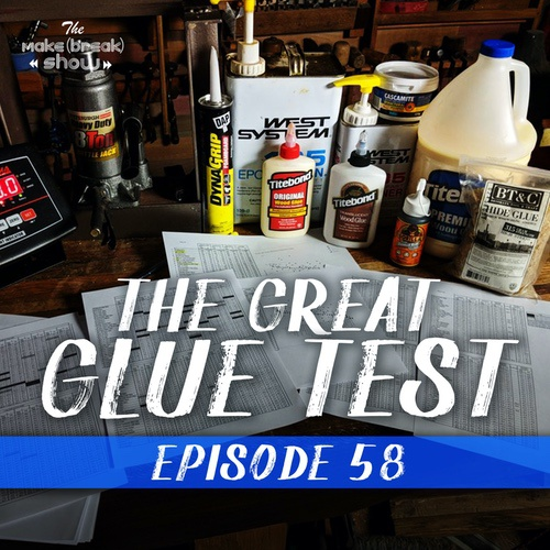 This week we bring James Wright from Wood By Wright back on the show. He recently conducted over 1200 adhesive tests to settle the debate on which glue you should use.