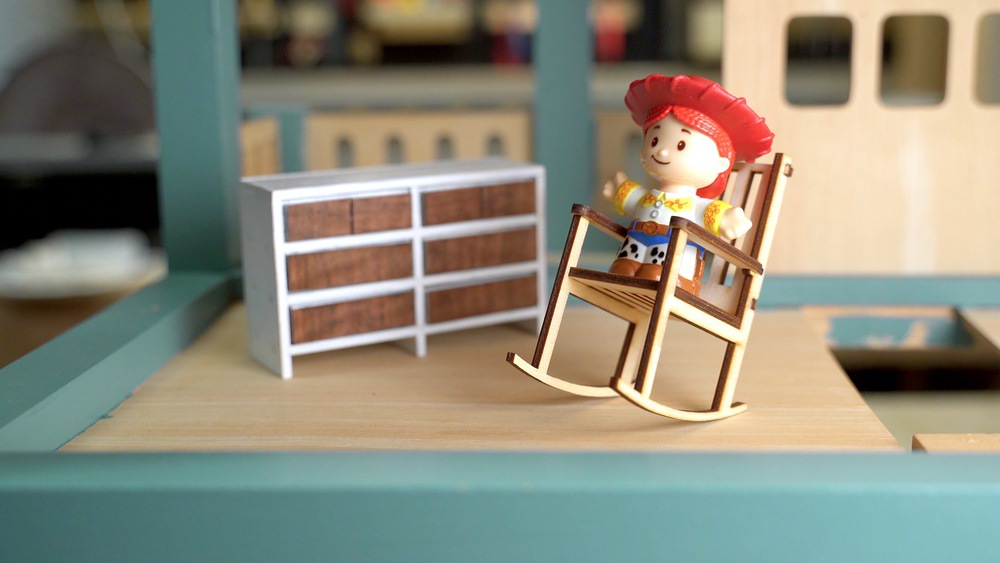 Toy Story sized dollhouse furniture