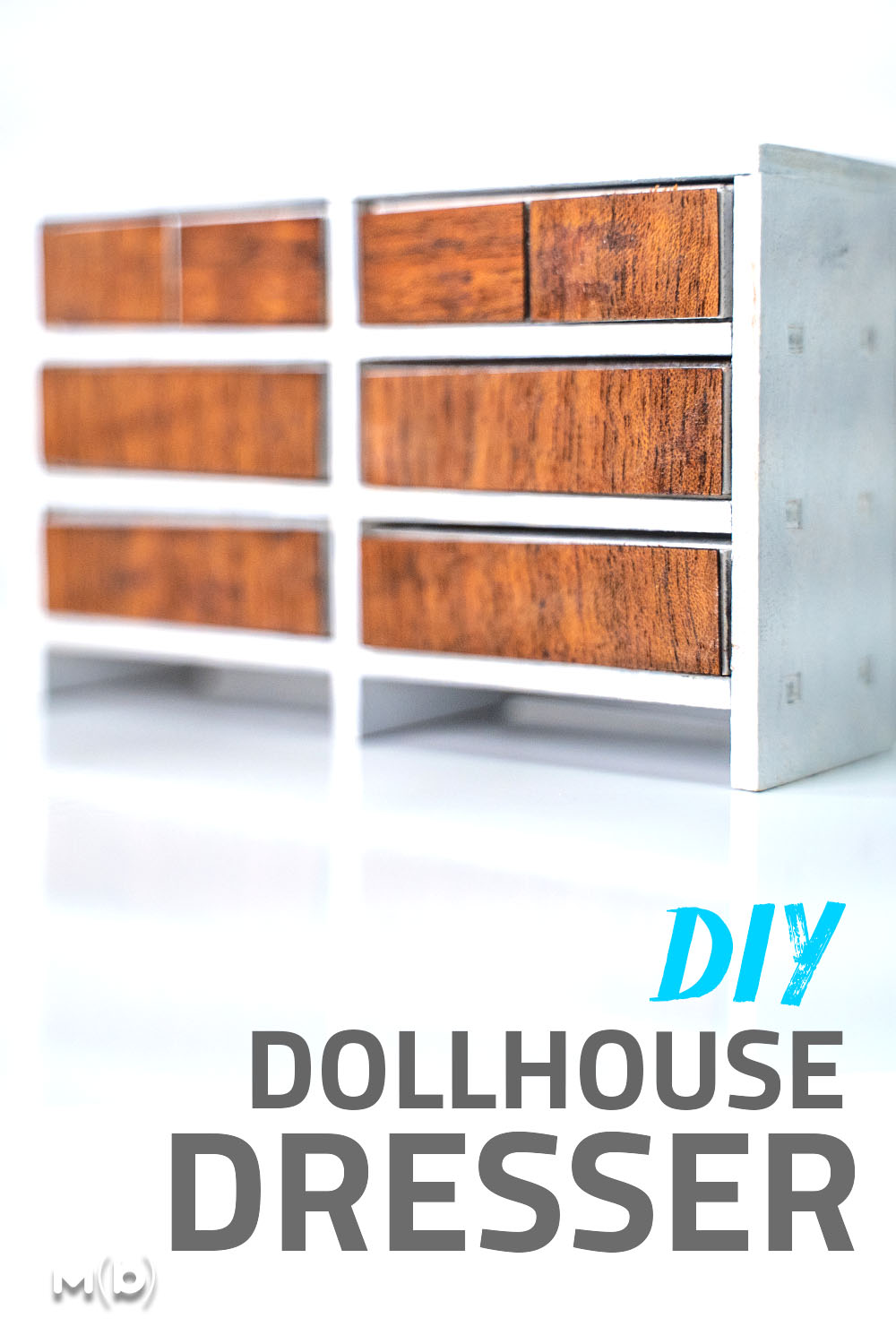 How to build miniature furniture perfect for a dollhouse. I used a laser cutter but you can just as easily cut all the pieces out with a knife!