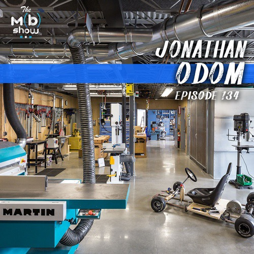 This week we are chatting with Jonathan Odom, aka Jon-a-Tron. We get into Jonathan's current work as the community manager for the 3D modeling software Fusion 360. Plus why he works in one of the coolest shops in the world, Autodesk's Pier 9 in San Fransisco.