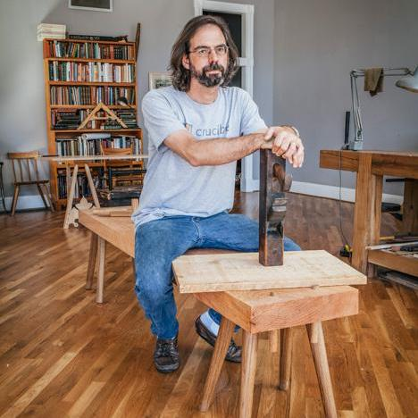 This week we bring back the most popular episode of all time, my interview with the one and only Chris Schwarz. We chat with fine furniture making, the book publishing and magazine business plus why traditional workbenches are way better than anything that is made today.