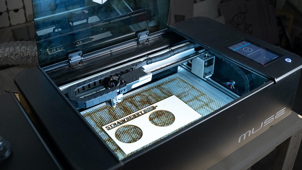 Muse Full Spectrum Laser Cutter and Engraver