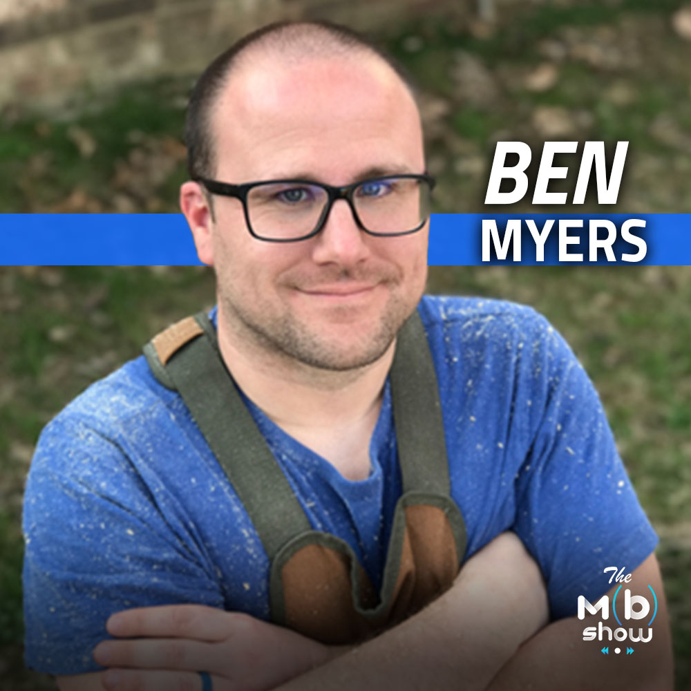This week we are chatting with Ben Myers. Ben runs a hobby wood shop with a heavy emphasis on robots. We get into our common love for all things CNC, 3D Printing and Lasers.