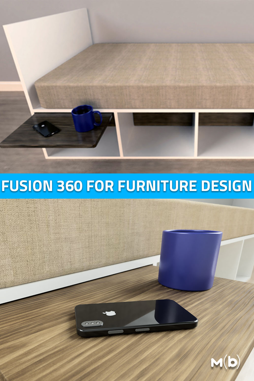 Making 3D models of furniture builds is a huge help in the design process. This is how i do it in Fusion 360. #DIY #3DModeling #FurnitureDesign