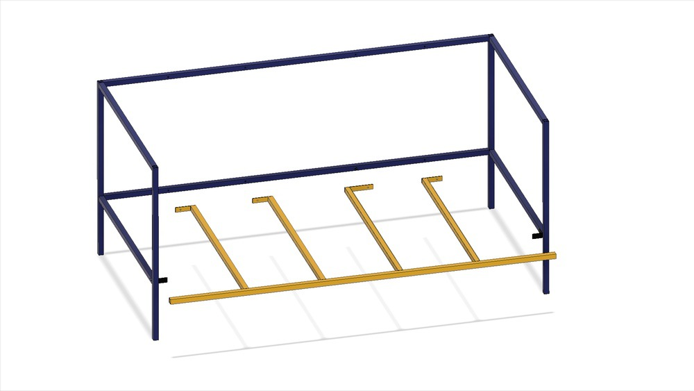 Fusion 360 removable bed design