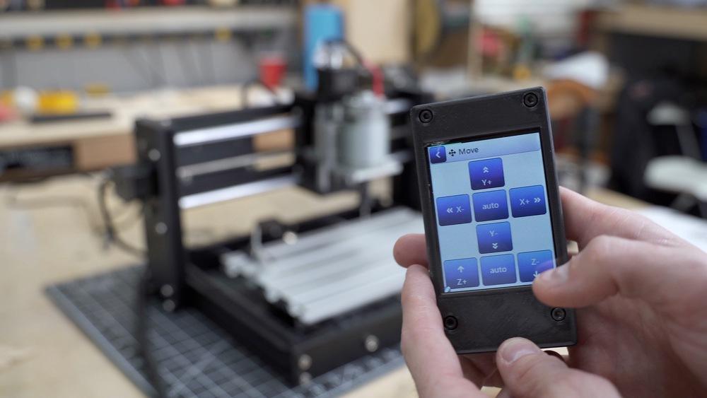 Ortur Aufero CNC Engraver Touchscreen