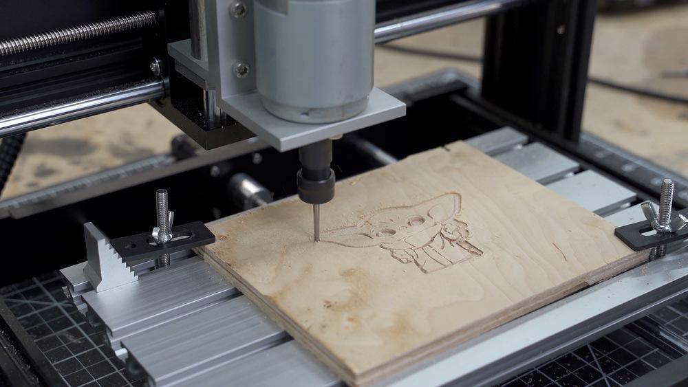 Ortur Aufero CNC Engraver Test Cut