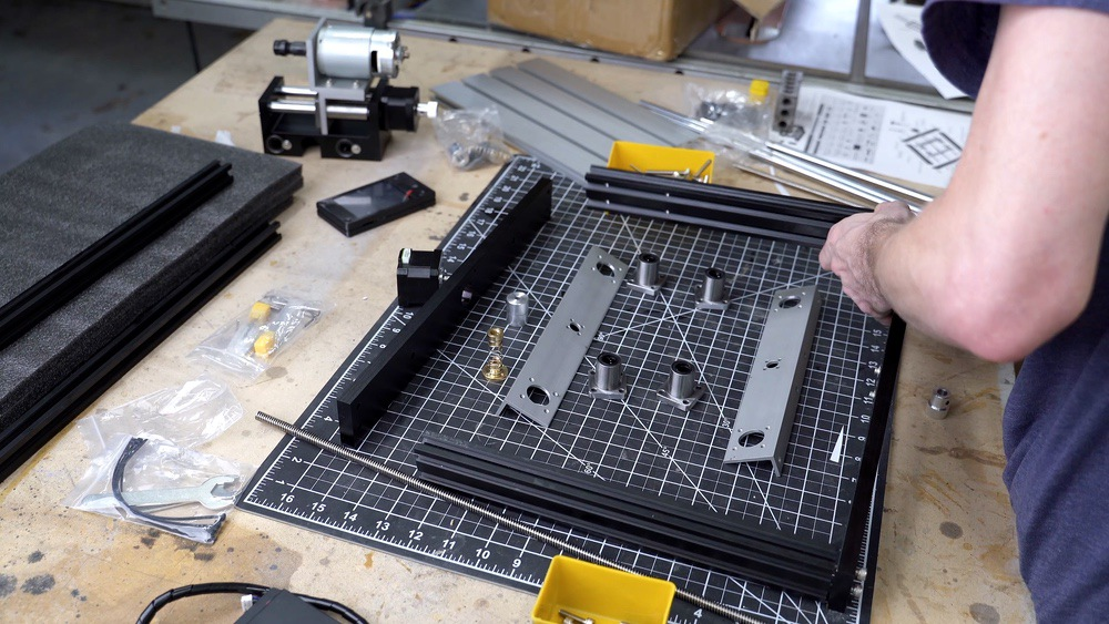 Ortur Aufero CNC Engraver Bottom Assembly
