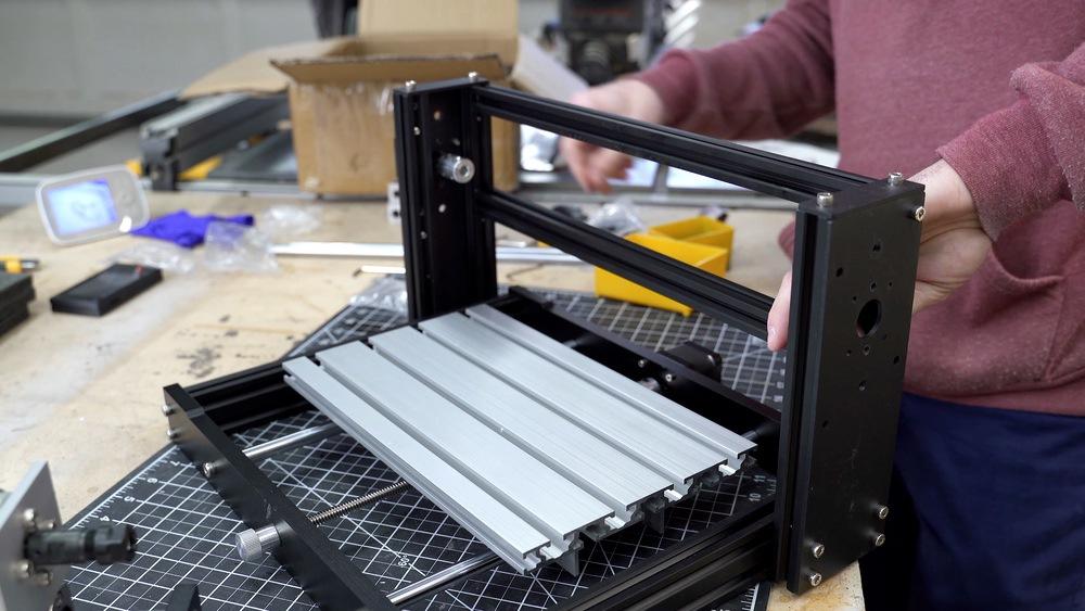 Ortur Aufero CNC Engraver Back Rail Assembly