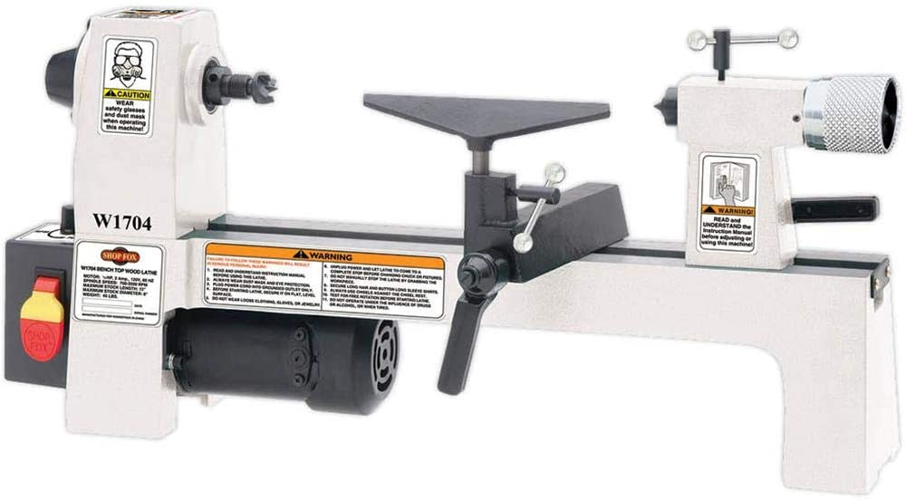 Shop Fox Benchtop Lathe