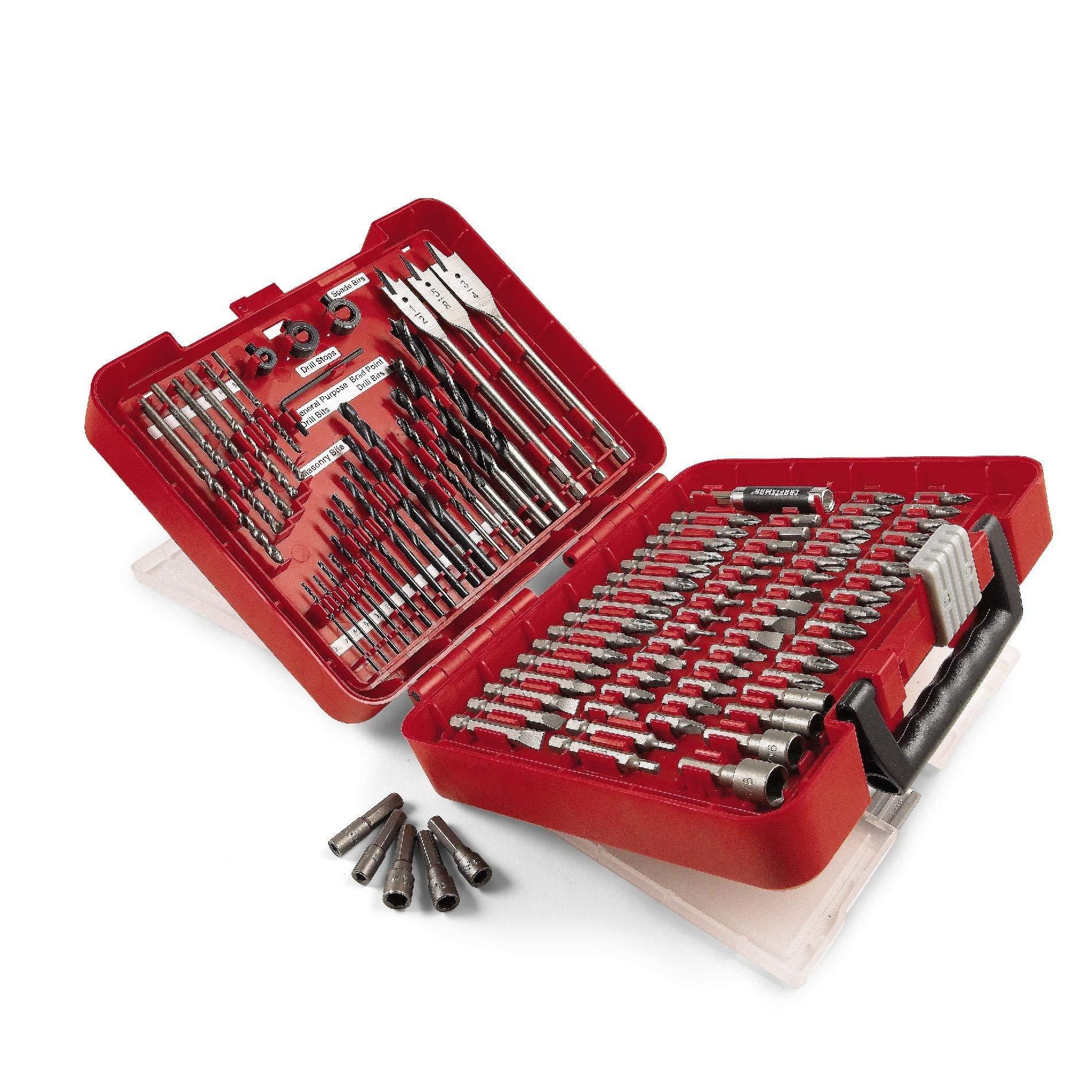 Craftsmen 100 Piece Drill Kit